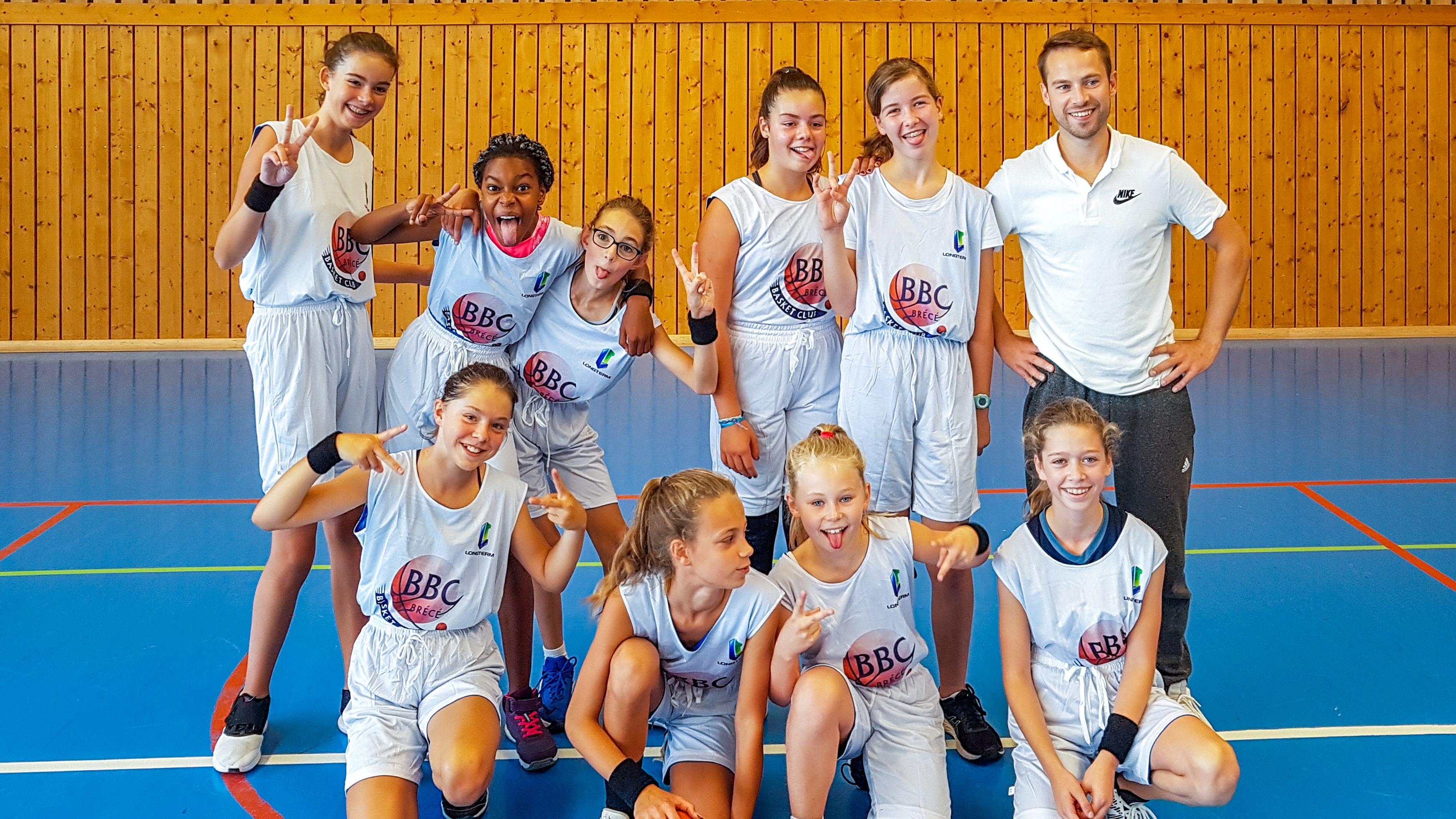 Photo de l'équipe U13 filles